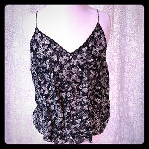Free People black and white tank NWT